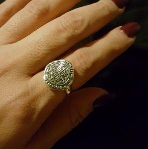 Retired evangelist ring